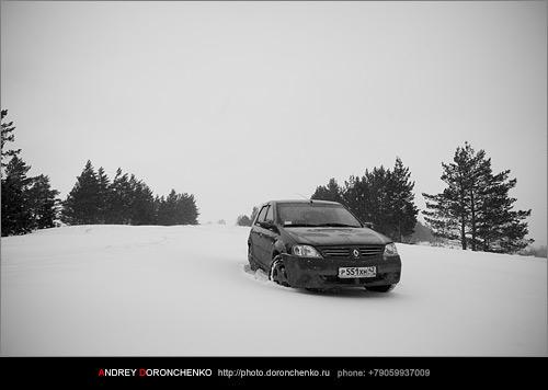 Фотограф Доронченко Андрей, Новокузнецк: Renault Logan.