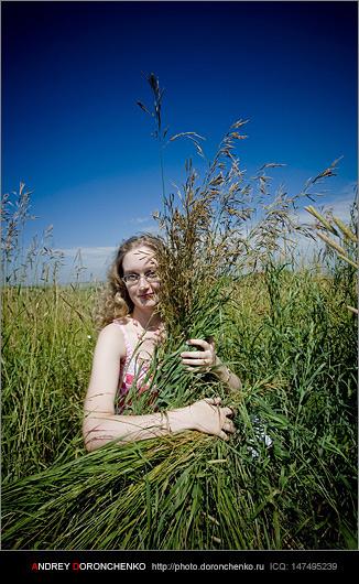 Фотограф Доронченко Андрей, Новокузнецк: Анастасия (фотозатусили)