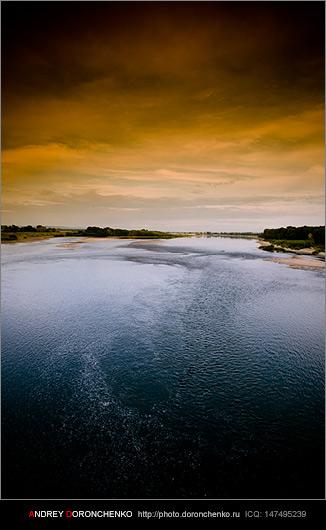 Фотограф Доронченко Андрей, Новокузнецк: речка Томь