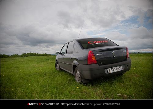 Фотограф Доронченко Андрей, Новокузнецк: Фотография легкового автомобиля Renault Logan.
